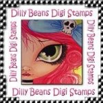 Dilly Beans Digi Stamps